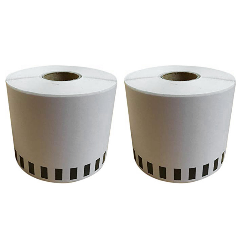6X For Brother DK-22205 Printer Labels 62mm Roll For QL-560 QL-570