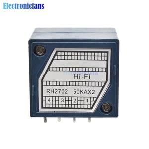 diymore Rotary Potentiometer ALPS RH2702 A100K 100K 50K Dual 8 Feet Potentiometer Stereo Speaker Amplifier Volume Potentiometer