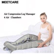 Pompa di Aria elettrica di Compressione Leg Massager di Terapia A Raggi Infrarossi Dolore Relife Piede In Vita Braccio Caviglie Massaggio Attrezzature di Riabilitazione Cura