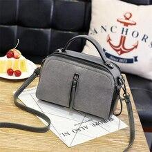 цена на New Faux Suede Women Messenger Bags High Quality Leather Women's Shoulder Bag Crossbody Bags Famous Brand Popular Ladies Handbag