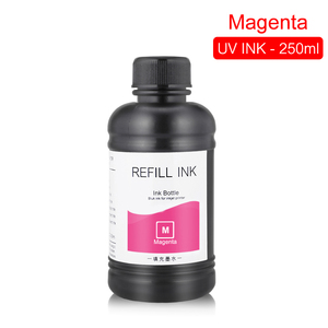 Image 4 - 250ML 4 Colors/Set LED UV Ink For DX4 DX5 DX6 DX7 Printhead For Epson 1390 R1800 R1900 4800 4880 7880 9880 UV Flatbed Printer