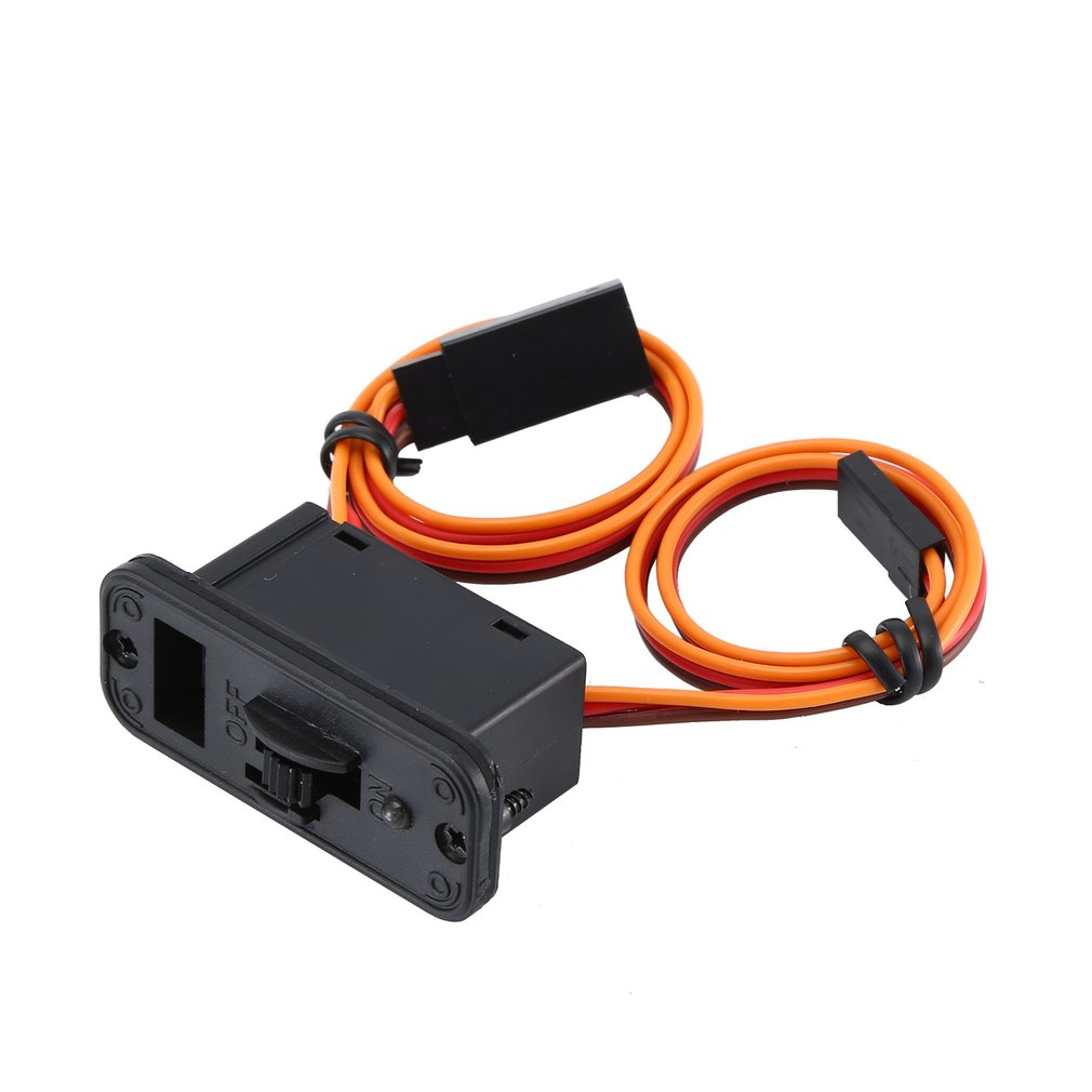 3 Way Medium On/Off Power Switch Wire Harness Cable With JR Connectors Plug Receiver Charge Port For RC Car Truck Boat