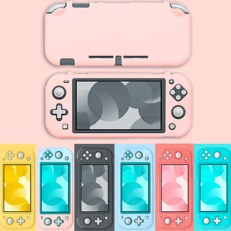 Colorful Protective Case Shell For Nintendo Switch Lite Cute Hard Cover Anti-Slip Full Shell For Nintend Switch Accessories