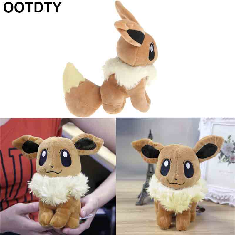 18cm-23cm EEVEE Pokemon Rare Soft Plush Toy Doll Brown/15.5cm Jigglypuff New