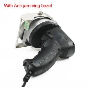 Image 5 - JIQI Электрический слайсер для кебаба нож для шаурмы ручной аппарат для резки мяса Гироскопический нож 220 240 в 110 В два лезвия