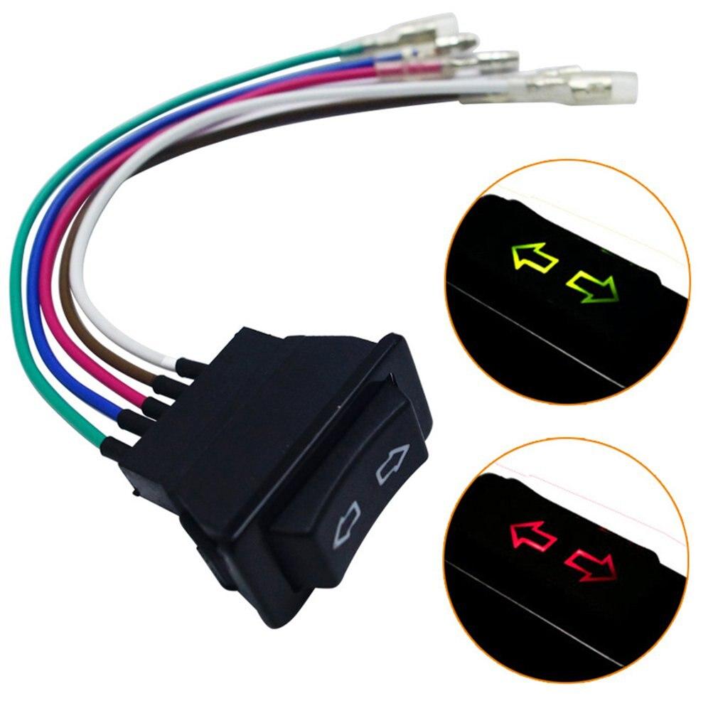 Профессиональный 5Pin 12 24 v черный автомобиль Мощность переключатель окна с Пластик лампа Электронный Компоненты универсальный для автомобилей|Переключатели и рычаги для авто|   | АлиЭкспресс