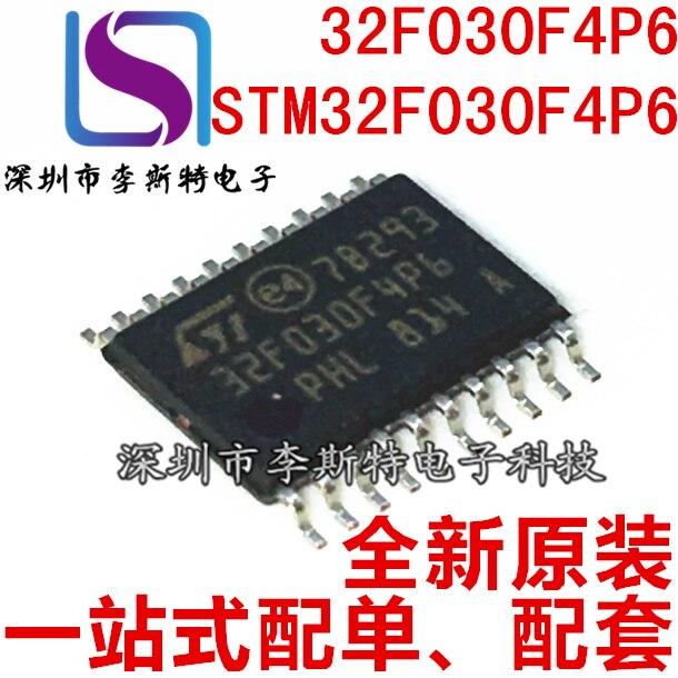 10 stücke 32F030F4P6 TSOP-20 STM32F030F4P6