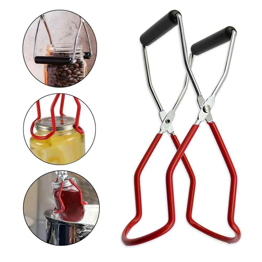 Pinzas para levantar tarros de enlatado kit de herramientas para enlatar antideslizante antiescarcha para cocina restaurante Frascos de boca ancha regular Empu/ñaduras seguras y seguras de vidrio