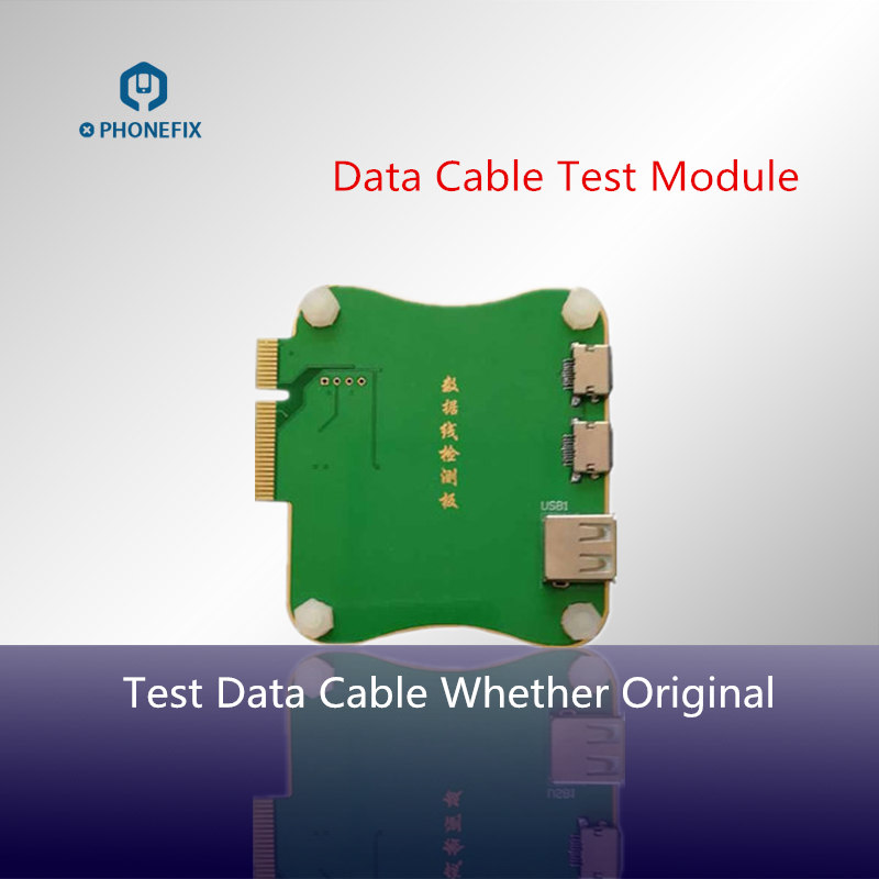 JC PRO1000S Data Cable Test Momule Tester Charge Cable Test Whether Original For IPhone IPad Date Line Check
