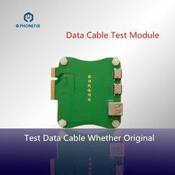 JC PRO1000S danych Tester do kabli Momule Tester kabel do ładowania sprawdzić  czy oryginalny dla iPhone iPad linia zmiany daty sprawdź w Zestawy elektronarzędzi od Narzędzia na
