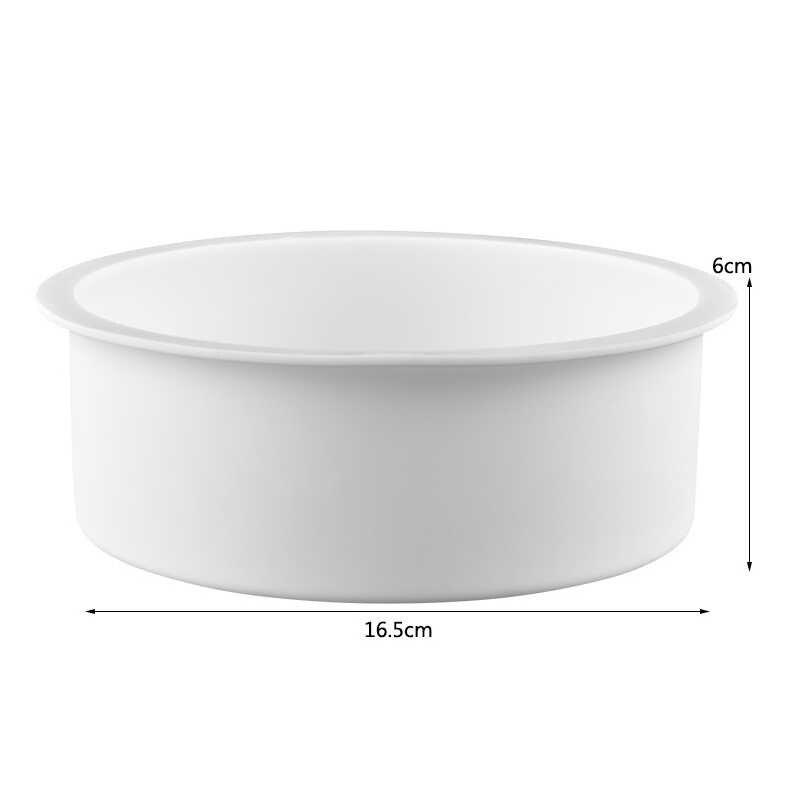 3 Pcs Siliconen Cakevorm Hart Ronde Vierkante Vorm Bakken Vorm Mallen Dessert Bakken Bakvormen Pan Cake Decorating Tool