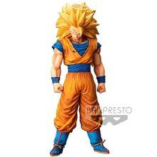 BANDAI Dragon Ball Z Super Saiyan Grandista nero ROS Son Goku Action PVC Collection Model Toy Anime Figure giocattoli per bambini