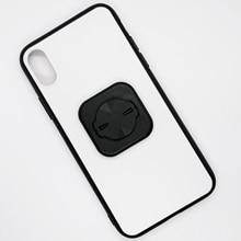 Étui de téléphone portable étui rigide en TPU avec adaptateur universel pour iPhone XR/11 pour support de vélo SRAM GARMIN FOURIERS BRYTON GUB
