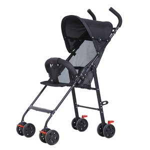 Image 4 - 2019 תינוק עגלת סופר אור וקל לנשיאה תינוק עגלת מתקפל ויושב