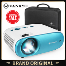 VANKYO A100MQ Mini Projector 1080P Portable Video Projector Compatible with TV Stick//TV Box/Laptop/DVD/PS4 Home Cinema