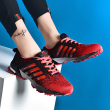 Women's Couple Shoes Breathable Running Shoes Fashion Large