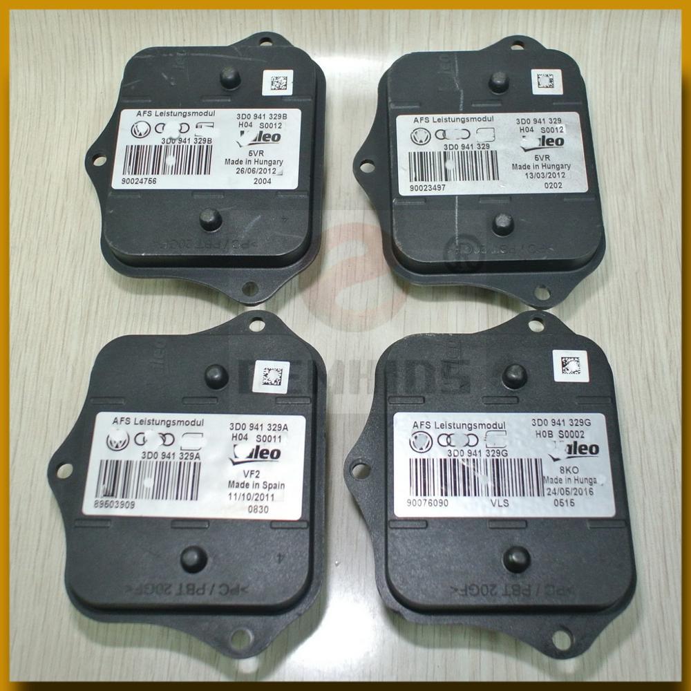 3D0941329 AFS Leistungsmodul AHL AFL ECU ballast Used Original OEMHIDS Headlight control unit 3D0941329A 3D0941329B 3D0941329G(China)