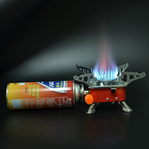 Lightweight Mini Pocket Stove Cooking Windproof Foldable Stove Burner Portable Foldable Square Furnace for Outdoors 30
