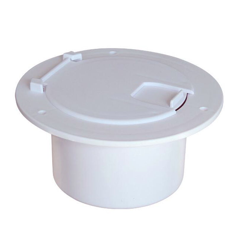 RV Accessories Circular Wiring Hatch Cover Trailer Wire Lock Box Junction Box Wire Connection Port Trailer Hatch Cover(China)