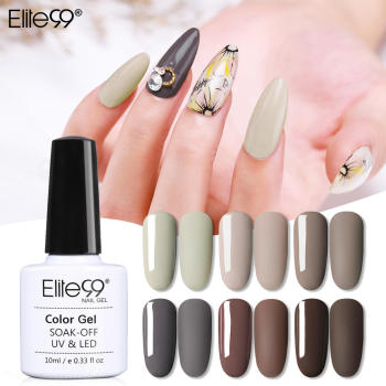 Elite99 Nail art Macchiato UV Nagel Gel Tränken Weg Matte Top Basis Mantel UV LED Nagel Lack Primer Polnisch salon Maniküre 10ML