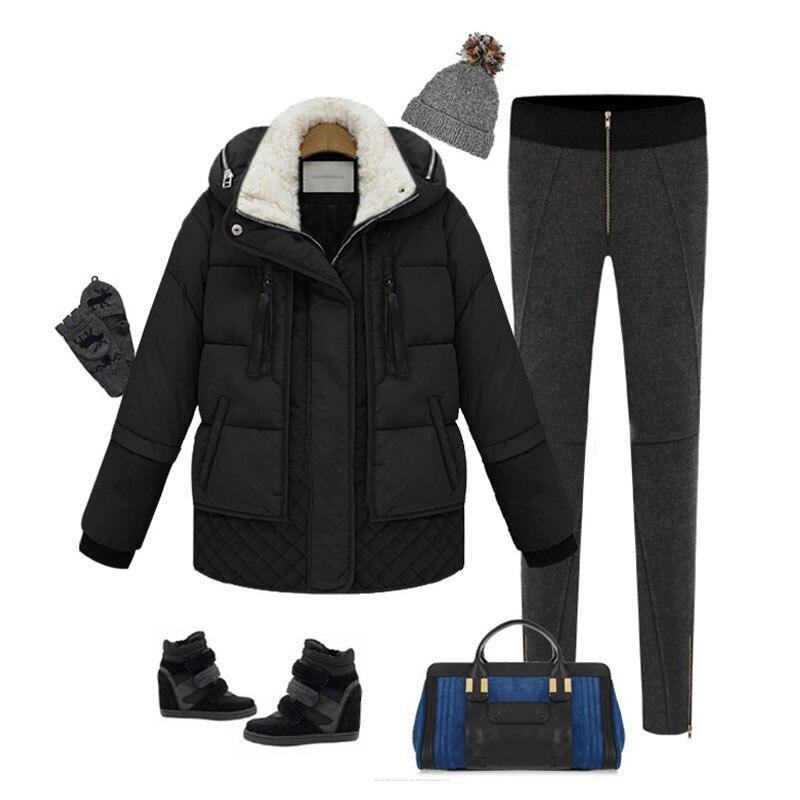 Winter Coat Women Down Jacket Plus Size Korean Thick Parka Puffer Womens Jackets Doudoune Femme Hiver YY-0025 KJ3039