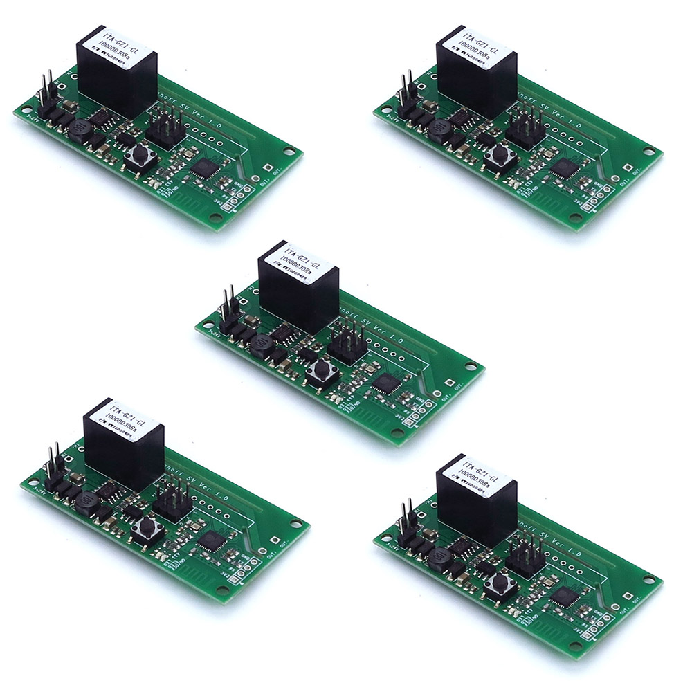 5Pcs/lot Sonoff SV Safe Voltage WiFi Wireless Switch Module Secondary Development 5-24V For IOS Android Smart Home IOT RCmall