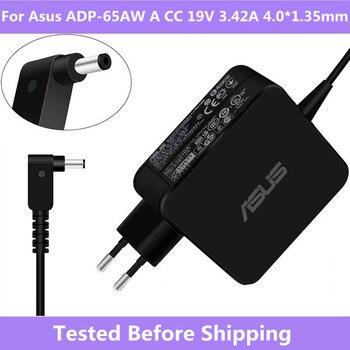 Cargador adaptador de CA para Asus ADP-65AW A CC 19V 3.42A 4,0*1,35mm para Asus ZenBook UX310UA UX310UQ UX310UA-RB52 UX310U