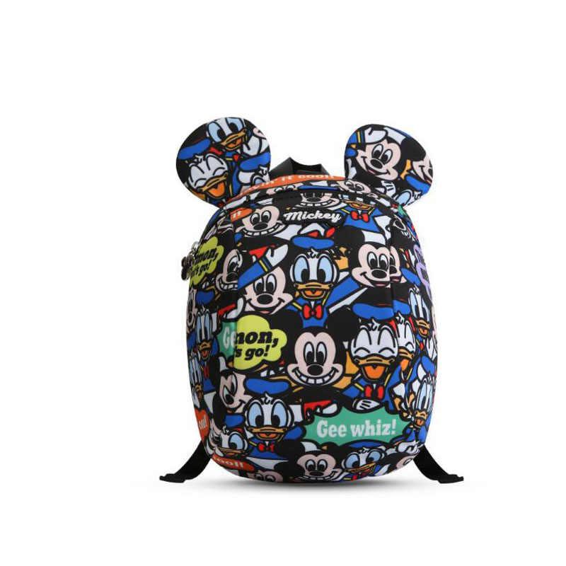 Mochila Anti-Pérdida de Disney correa para el cuidado del bebé mochila para caminar cinturones Annes Mickey niño niños niñas 1,2 M de dibujos animados