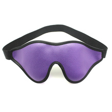 PU Leather Sexy Eye Mask Flirting bdsm Bondage Exotic Adult Games Blindfold Sex Toys for Woman Party club Coslay Mysterious toy
