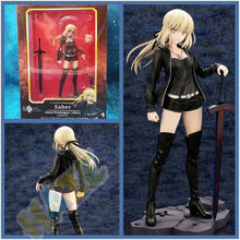 цены Anime Fate/Grand Order Saber Altria Pendragon Action Figure Toy Collection in Box 24cm