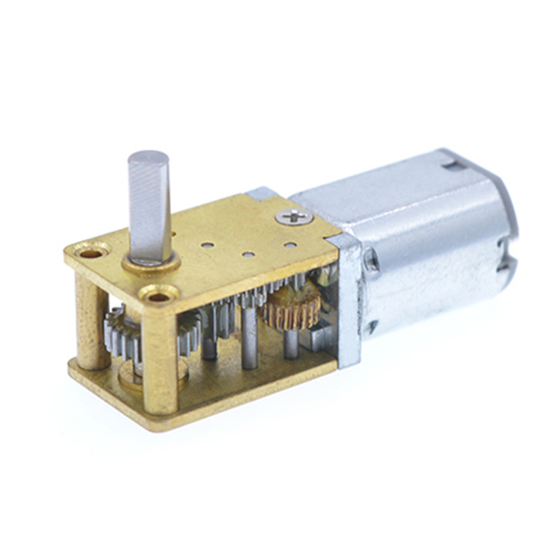 DC 12V 120RPM Mini Gearwheel Speed Reduce Geared Electric Motor with 3mm Shaft