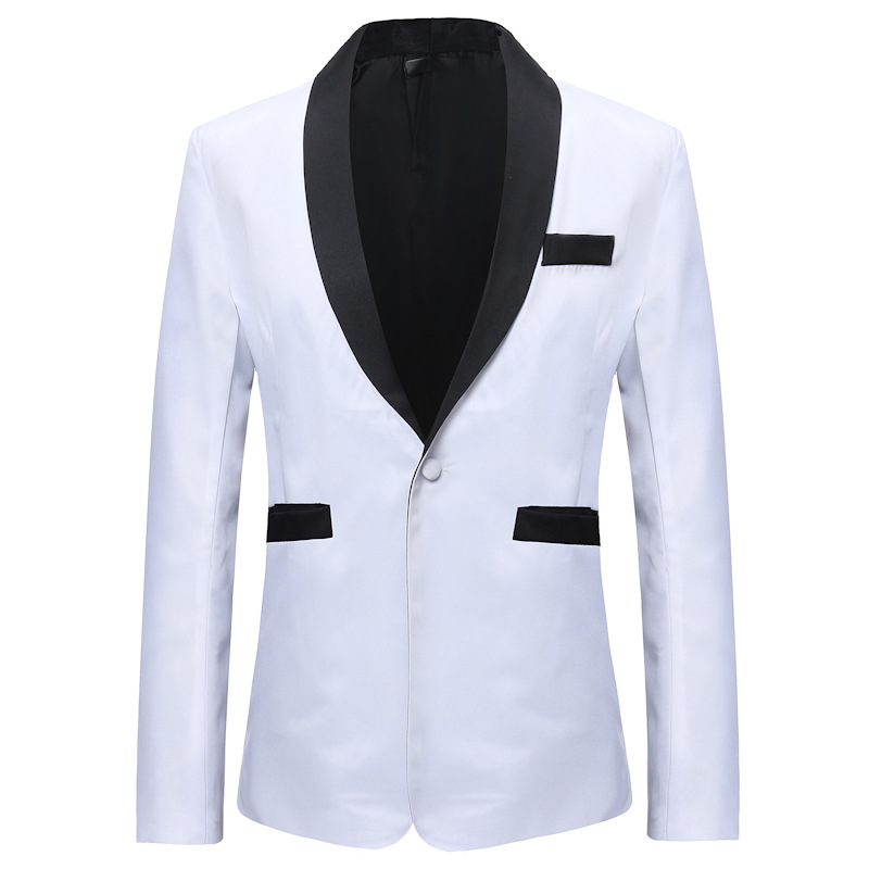 MEN'S Casual Suit 2018 Autumn And Winter New Products Coat Trend One-Button-Style MEN'S Suit