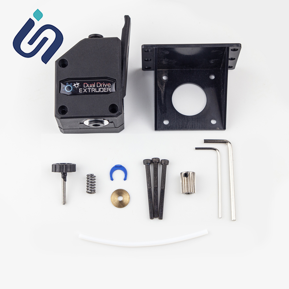 New BMG Aero Extruder for Ender 3 CR10 TEVO Anet MK8 3D Printer Parts Upgrade Dual Drive BMG Extruder Kit