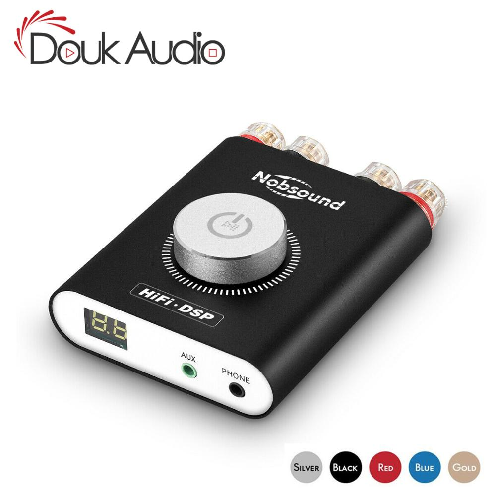 Douk audio HiFi NS-20G Hifi <font><b>DSP</b></font> Stereo Headphone Amp <font><b>Mini</b></font> Bluetooth 4.2 TPA3116 Digital Power Amplifier 200W Without Adapter image
