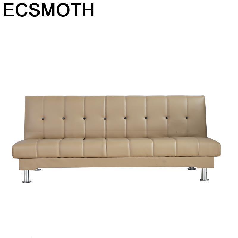 Couche For Folding Recliner Puff Futon Oturma Grubu Mobilya Para Meble Leather Set Living Room Furniture Mueble De Sala Sofa Bed