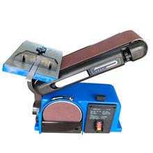 Sanding Machine Woodworking Center Belt Metal Home DIY Dust Collection Desktop Vertical Multifunction Electricity Polishing Tool