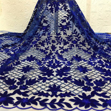 with Sequins Tulle Lace Fabric High Quality Latest African  Nigerian French Net For Party xc1-1158