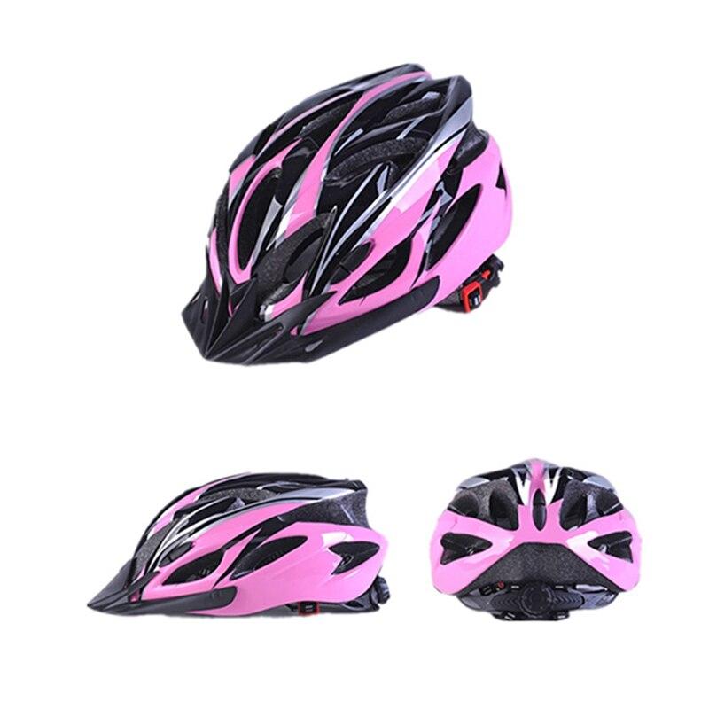 Велосипедный шлем многоцветная защита шлем ездовое оборудование интегрированная форма легкий пористый дышащий шлем для горного велосипед...