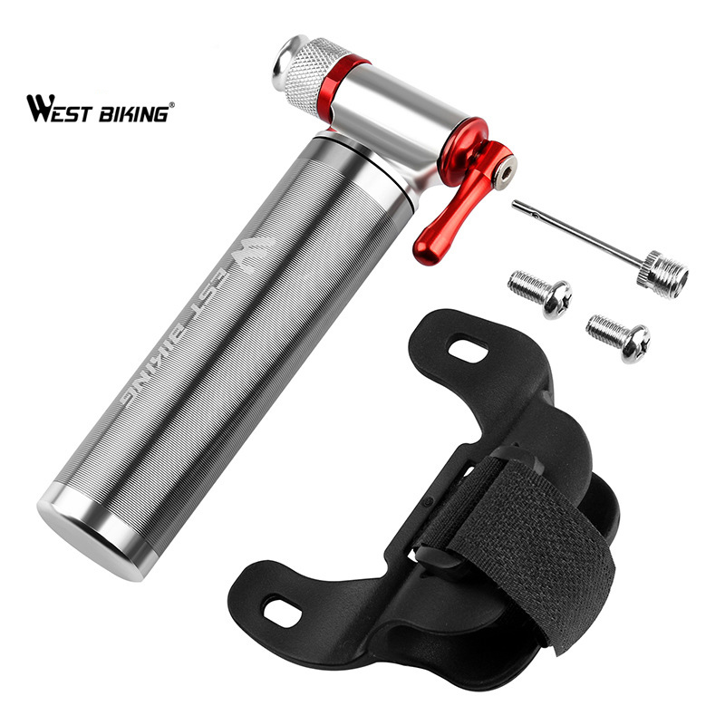 Bicycle-Pump Bike Inflator Moto Bycicle Cycling Co2 Mini Portable Ball-Accessories Tire