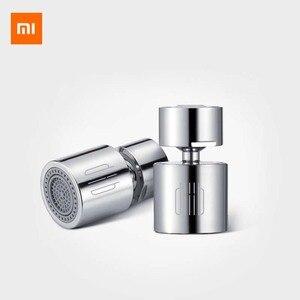 Image 1 - Xiaomi dabai dupla função torneira bubbler 360 graus universal volume pequeno padrão de água dupla evitar salpicos água
