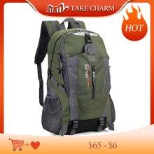 Nouveaux hommes voyage sac à dos en Nylon étanche jeunesse sport sacs décontracté Camping mâle sac à dos ordinateur portable sac à dos femmes en plein air randonnée sac