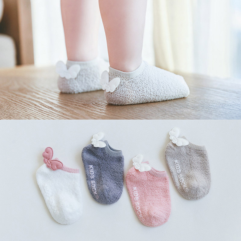 New Soft Sole Cotton Newborn Baby Shoes With Cute Angel Wings Non Slip Toddler Shoes First Walkers Baby Boy Girl Prewalker