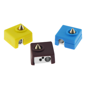 3D Printer MK8 Protective Silicone Sock Cover Case for Heater Block of CR10,10S,S4,S5 Anet A8 MK7/MK8/MK9 Hotend(China)