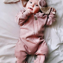 LZH Infant Clothing Baby Girl Boys Clothes Autumn Spring Newborn Baby Rompers For Baby