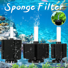 Aquarium Filter Aquatic Sponge Filters Fish Tank Air Pump Biochemical  Acquatic Accessories D35