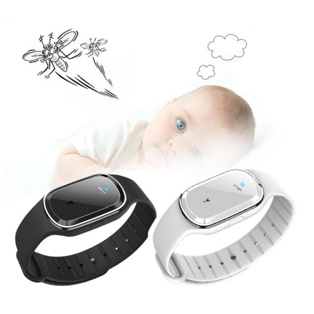 Watch Bracelet Mosquito-Repellent Portable Ultrasonic Necessities Couple Daily M1