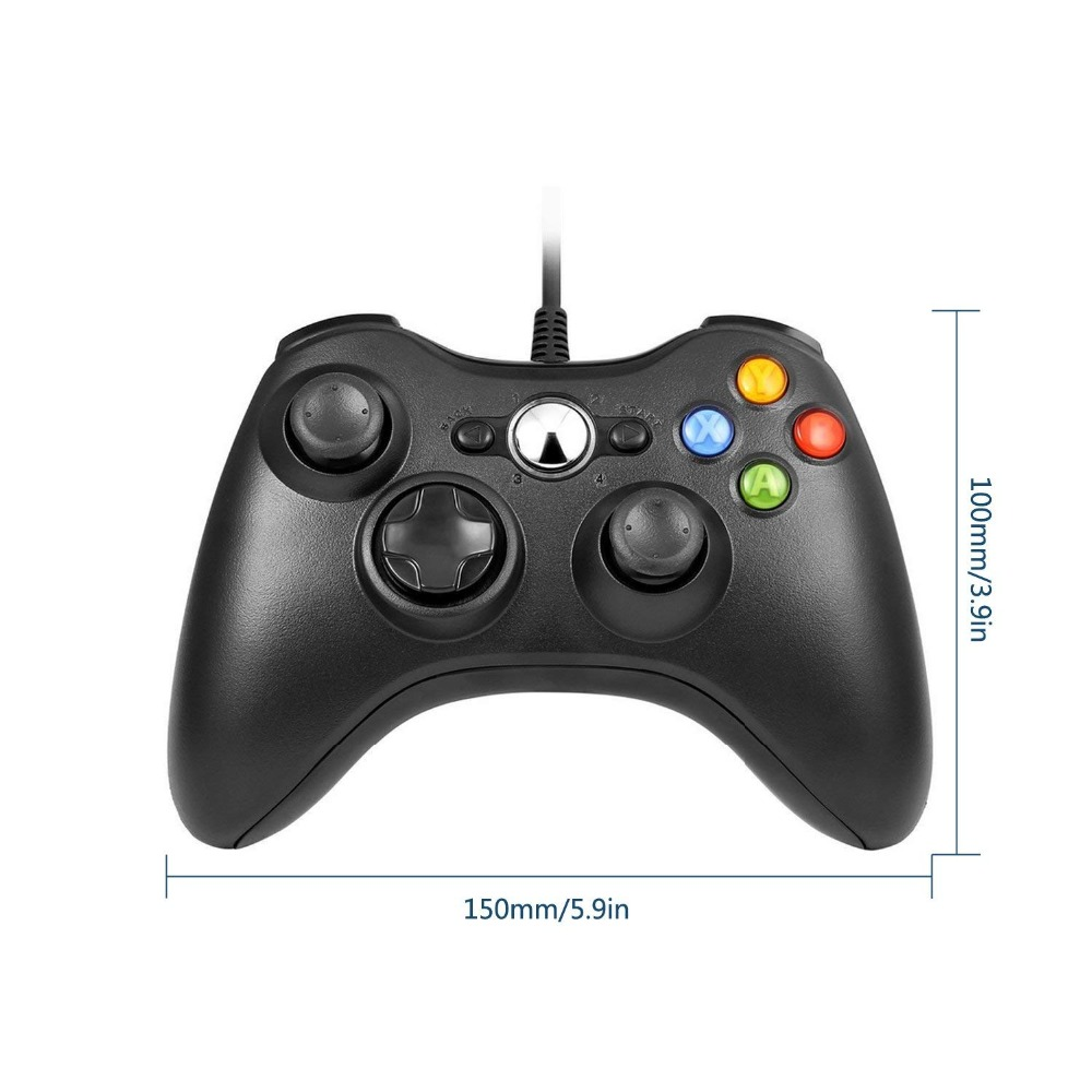 USB Wired Gamepad For Xbox 360 /Slim Controller For Windows 7/8/10 Microsoft PC Controller Controle Wired Support For Team Games