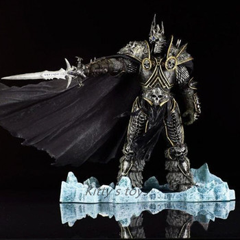 HOT WOW DC7 FALL OF THE LICH KING ARTHAS ACTION FIGURE Model Toy 21CM Free shipping KA0447 2
