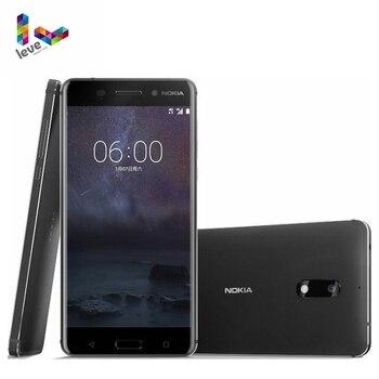 "Original Nokia 6 Dual SIM Android Smartphone 4GB RAM 64GB ROM Octa Core Fingerprint 5.5"" 1080P 16MP 4G LTE Unlocked Mobile Phone"