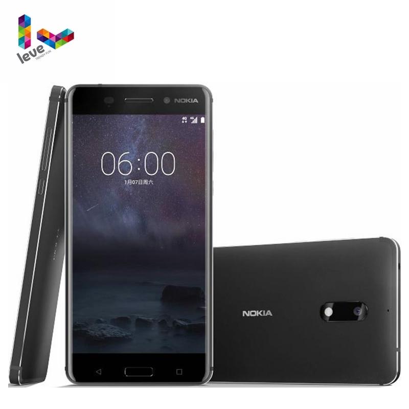 Original Nokia 6 Dual SIM Android Smartphone 4GB RAM 64GB ROM Octa Core Fingerprint 5.5